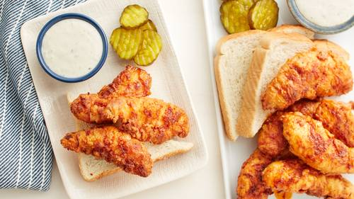 Tennessee Hot Fried Chicken Tenders Recipe