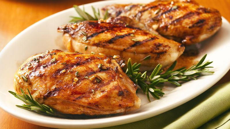 Balsamic-Glazed Grilled Chicken Breasts Recipe ...