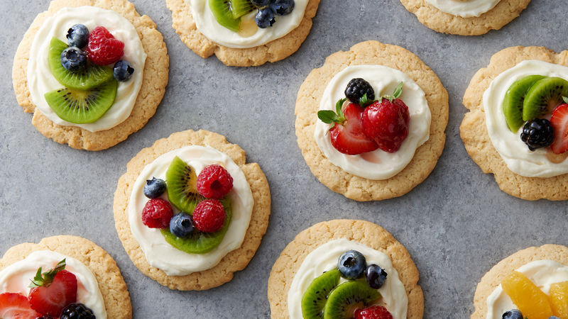 easy fruit cookie tarts