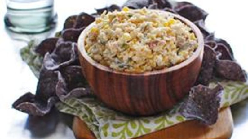 Spicy Corn and Jalapeño Dip