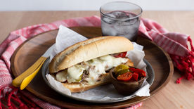 Tangy Slow-Cooker Pickled Pepper Pork Melts