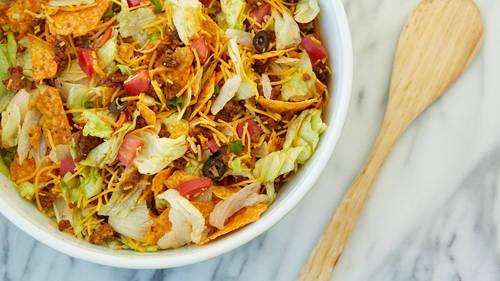 Crunchy Potluck Taco Salad image