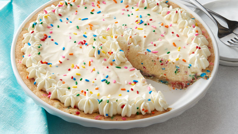 Birthday Party Ice Cream Pie