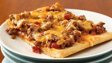 Southwest Sloppy Joe Pizza