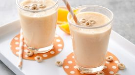 Orange Crème and Cereal Smoothies