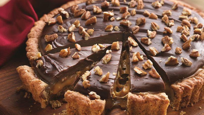 Tarta Tortuga de Caramelo con Chocolate