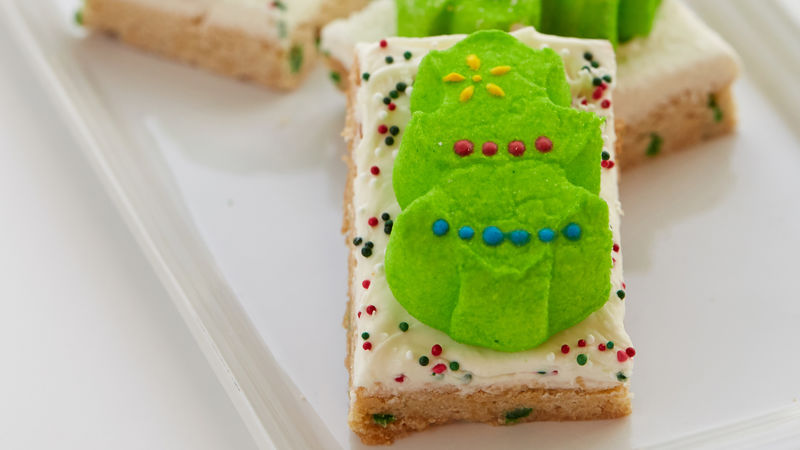 PEEPS® Tree Sugar Cookie Bars