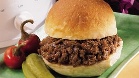 Easy Slow-Cooked Bbq Beef Sandwiches