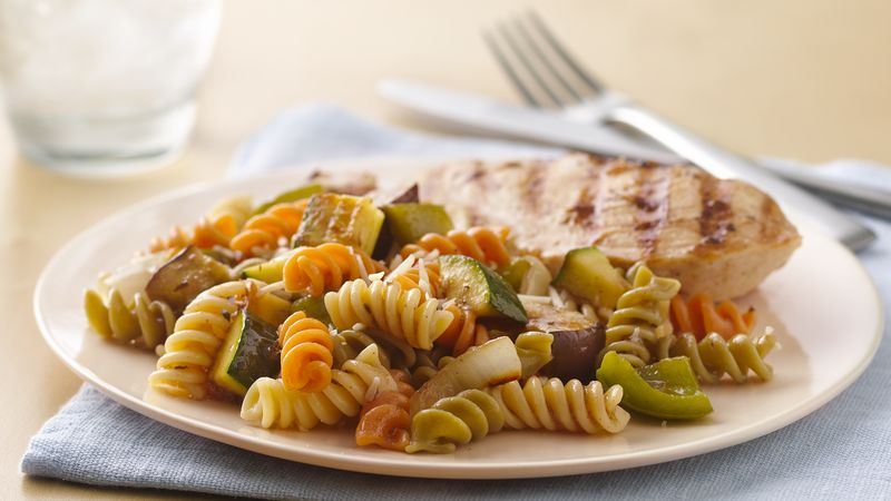 Herb Grilled Vegetable Pasta Salad