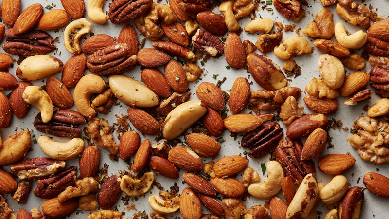 Toasted Rosemary Nuts