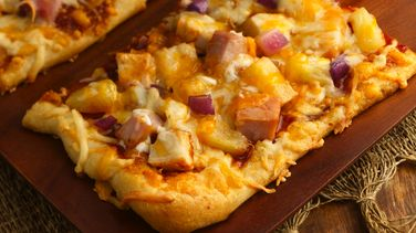 Hawaiian BBQ Pizza