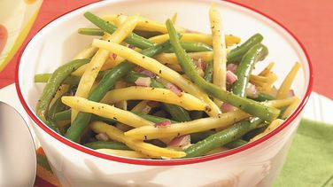 Garden Bean and Onion Salad