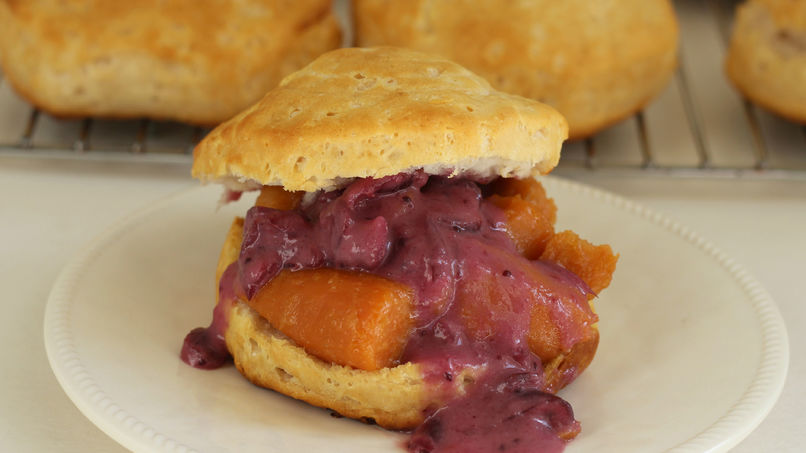 Sweet Potato and Cranberry Pillsbury™ Grands!™ Shortcakes
