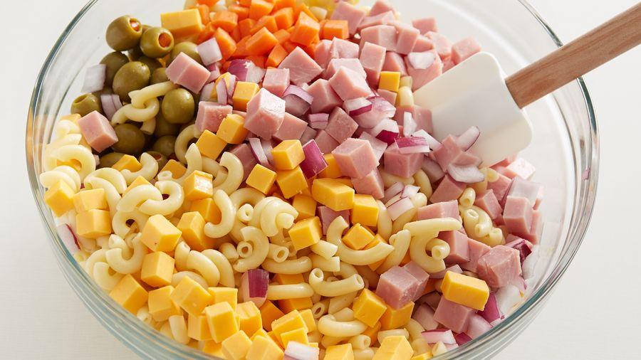 Ensalada De Coditos Con Zanahoria