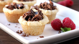 Sugar Cookie Truffle Cups