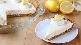 No-Bake Lemon Icebox Pie
