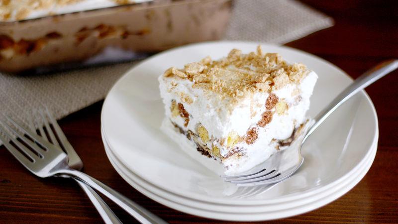Cinnamon Toast Crunch™ Dessert Lasagna