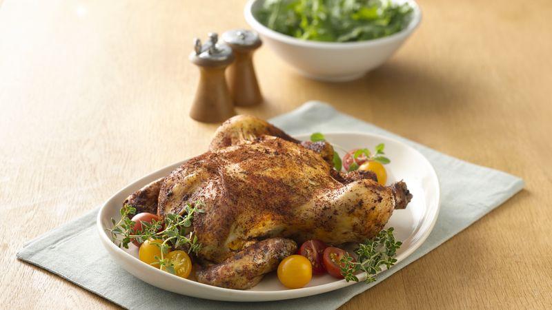 Rotisserie Spiced Chicken