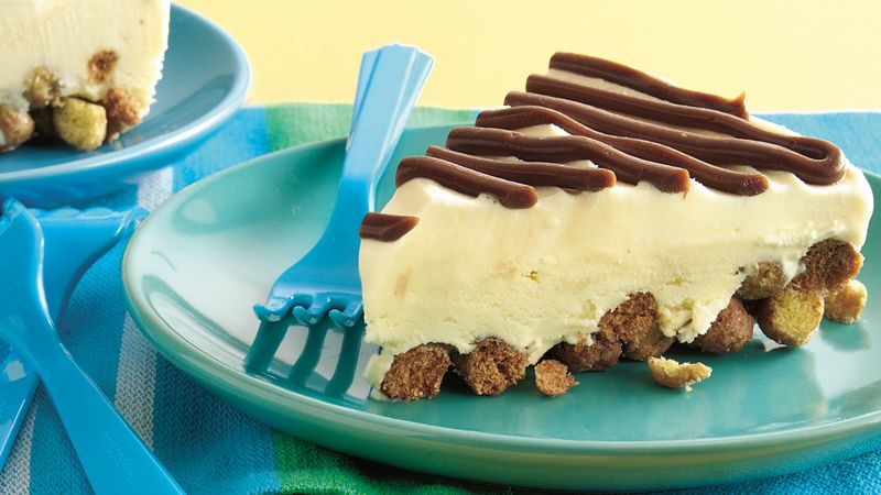 Peanut Butter-Fudge-Ice Cream Pie