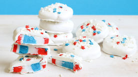 Red, White and Blue Peppermint Patties