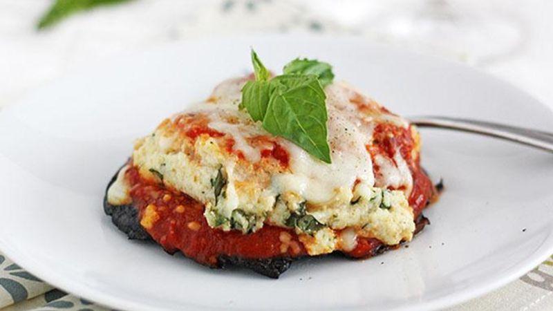 Lasagna-Stuffed Portobello Mushrooms