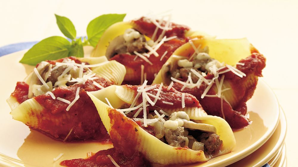 Stuffed Pasta Shells (Recipe Makeover)