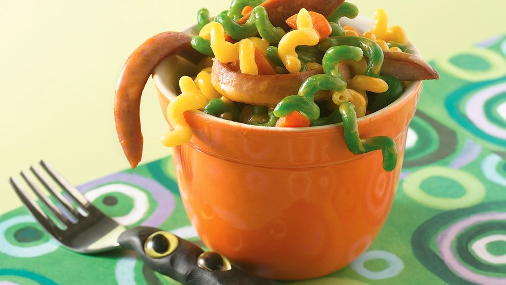 Creepy Crawler Macaroni and Cheese