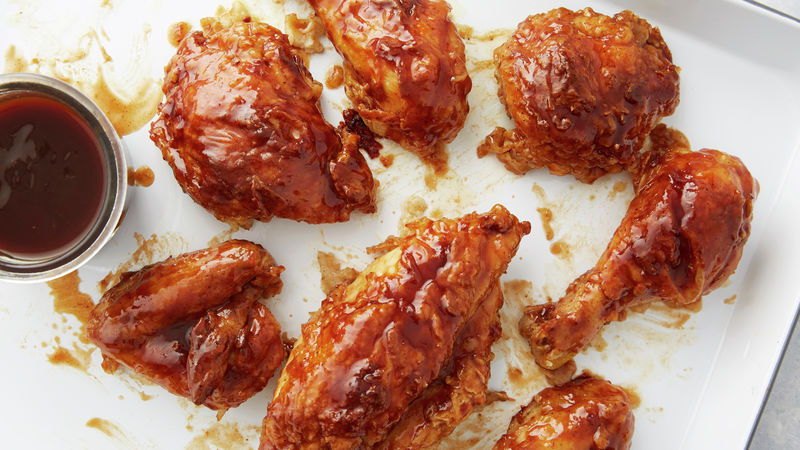 Oven-Fried Barbecue Chicken