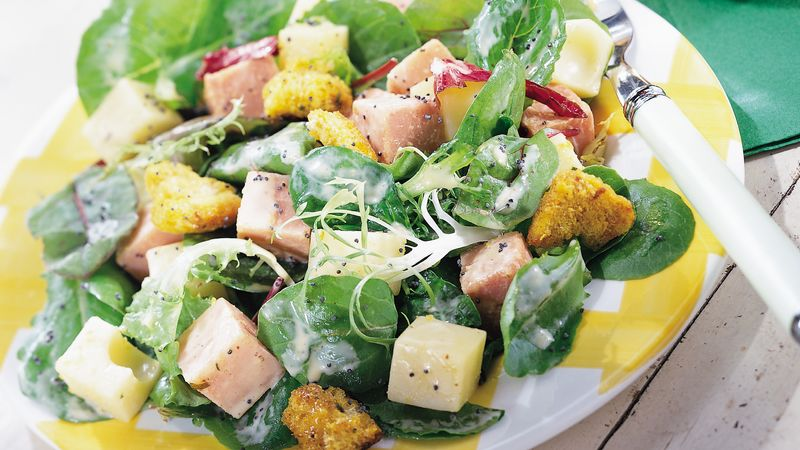 Ham and Swiss Summer Salad
