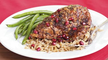 Rosemary Pomegranate Chicken
