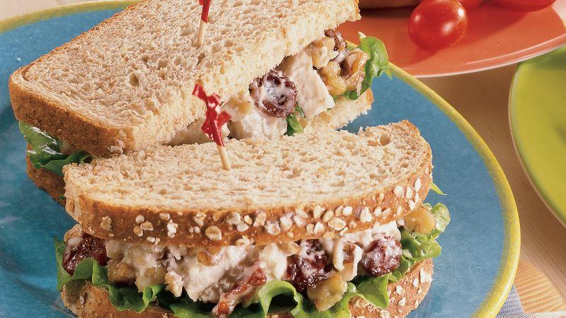 Cherry Chicken Salad Sandwiches