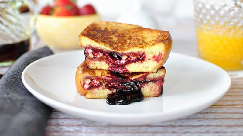 PB and J French Toast