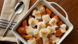 Marshmallow-Topped Sweet Potatoes