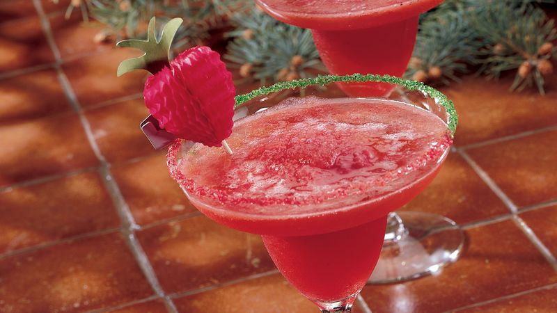 Frozen Strawberry Margaritas Recipe Bettycrocker Com