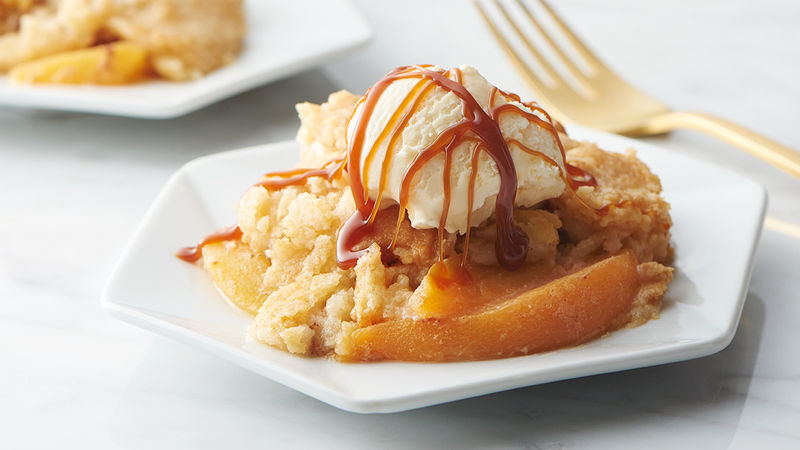 Peach Dump Cake Recipe Tablespoon Com
