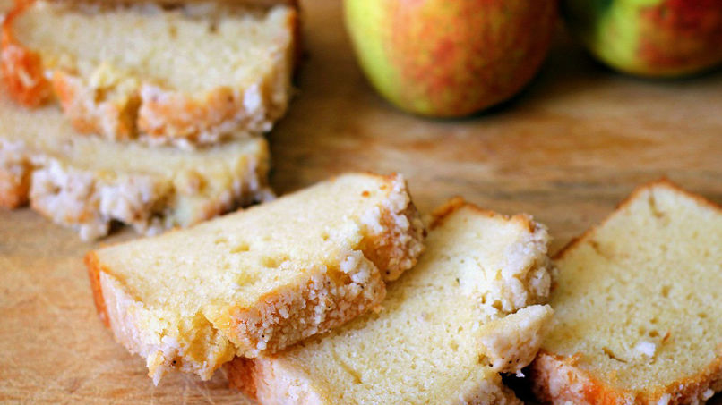 Ricotta and Apple Squares