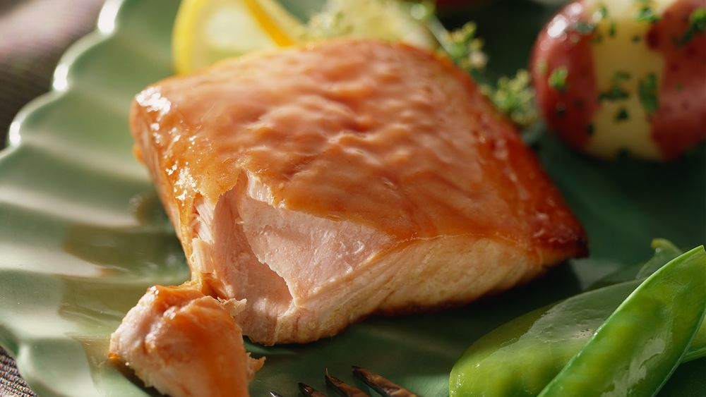 Simple Honey-Glazed Salmon