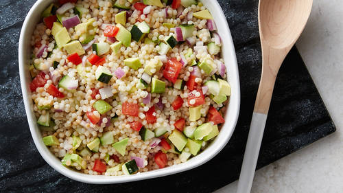 Cold Couscous Pasta Salad Recipe Tablespoon