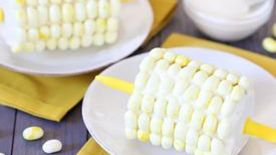 Corn-On-The-Cob Cake Pops