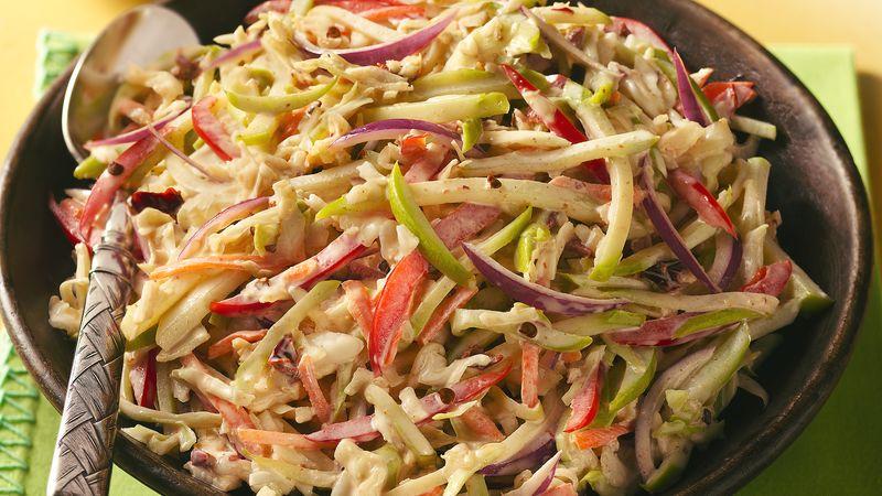 Spicy Mexican Cabbage Slaw Recipe Bettycrocker Com