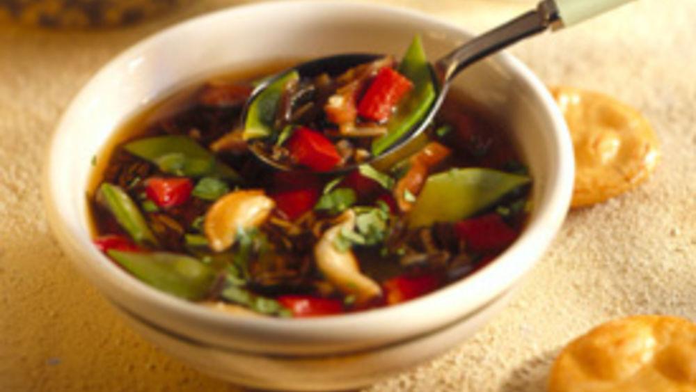 Oriental Wild Rice Soup