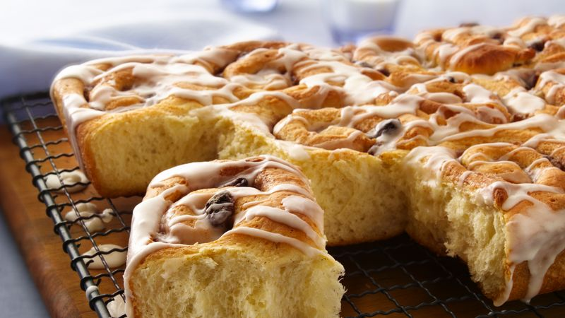 Old Fashioned Cinnamon Rolls Recipe Bettycrocker Com