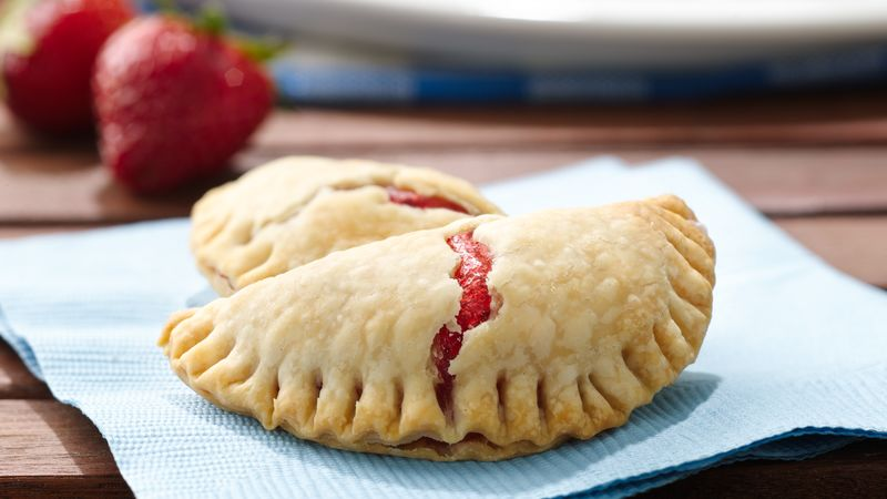 Grilled Strawberry Hand Pies Recipe - Pillsbury.com