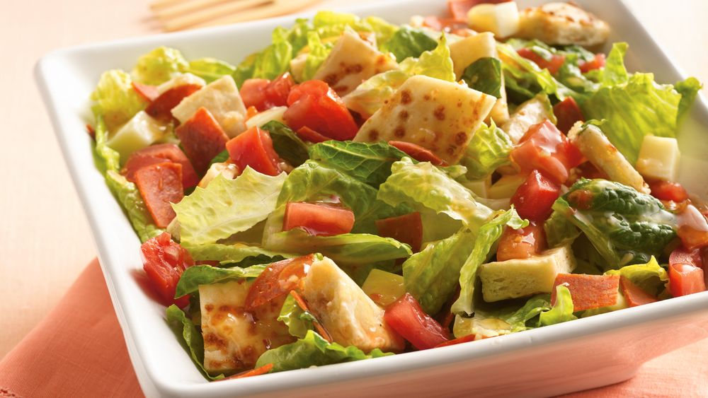 Pizza Bread Salad