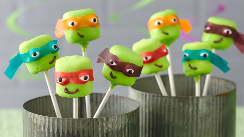 Teenage Mutant Ninja Turtles Marshmallow Pops