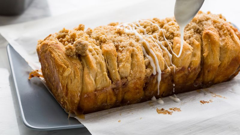 Apple Streusel Pull-Apart Bread