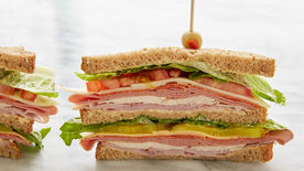 Make-Ahead Dagwood Sandwiches