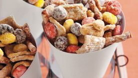 Crunchy Peanut Butter Cereal Party Mix