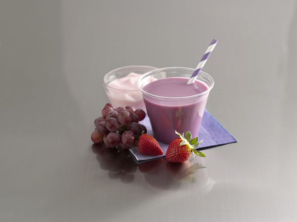 Purple Daze Blenderless Smoothie (Strawberry Grape)