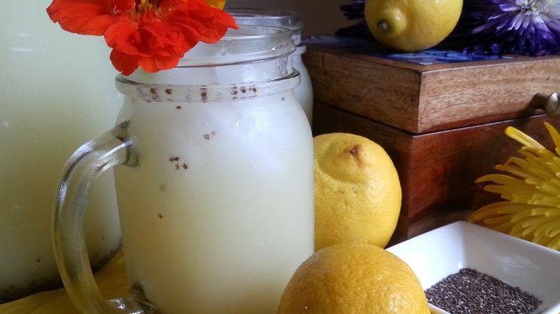 Limonada con Chía